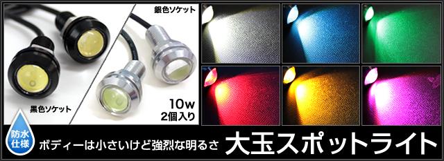 大玉LEDスポットライト