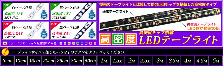 高密度テープライトシリーズ